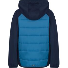 Regatta Kielder Hybrid Jas Kinderen blauw
